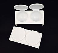 ferramentas de cristal xícara de lavar caneta copo de plástico manicure tinta branca roda de cores