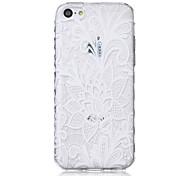 цветочные капусты картины волны скольжения ручка ТПУ мягкой случай телефона для iPhone 5с