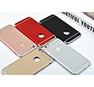 3 in 1 di lusso del pc duro l'argomento per iphone 6 / 6s (colori assortiti)