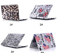 "Pattern PU Leather Case+Matt Bottom Cover Shell for Macbook Air 11""/13""or Macbook 12"""