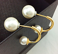 Women's fashion pearl earring