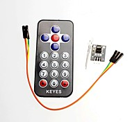 Infrared Wireless Remote Control Kit Black