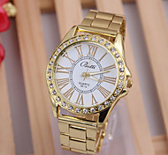 Woman's Watches A Strip Of Gold Diamond Watch European Fashion Hot Strip Suit Fashion Female Golden Watch