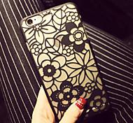Blumenmuster PC harter Abdeckungsfall für iphone 6 / iphone 6s