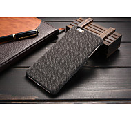 New Style PU Tartan Brand Turf Mobile phone Case for iPhone 6S Plus/iPhone 6 Plus Assorted Color