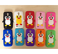 Cute Cartoon Shell Silicone Sets Mobile Phone Protection Shell For Galaxy S6/S3 Mini/S4 Mini/S3/S4/S5(Assorted Color)
