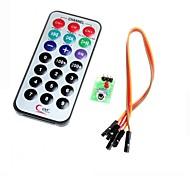 hx1838 infrarrojos código del módulo de control remoto control remoto por infrarrojos para Arduino