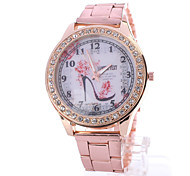Woman's Watches Geneva Fashion Casual Graffiti Watch