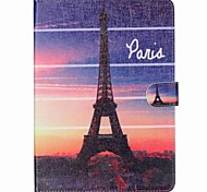 Tower  Pattern PU Leather Protective Sleeve For Samsung Galaxy Tab E 9.6 T560