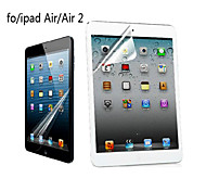 Professional High Transparency LCD Crystal Clear Screen Protector with Cleaning Cloth for iPad Air/Air 2