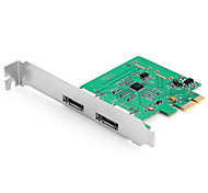 Shengwei® PEC-2026 PCI-E to ESATA3 Port Board MosChip MCS9922 Use for WIN98/Me/XP/Server2003/Vista/7/8/10