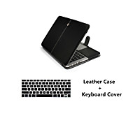 """Fashion 2 in 1 PU Leather Laptop Case Cover + Keyboard Cover for Macbook Air 11""""/13"""""""
