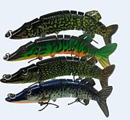 """Harte Fischköder 20 g / 3/4 Unze , 125 mm / 4-3/4"""" Zoll 4 pcsSeefischerei / Fliegenfischen / Köderwerfen / Eisfischen / Spinning / Spring"""