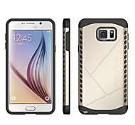 cubierta de armadura de 2 en 1 de alta resistencia caso de TPU + de la cubierta de la PC funda para Samsung Galaxy Note 5 (colores