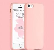 pink girl einfarbig elegant einfache weicher Kasten für iPhone 5 / iphone 5s