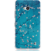 Apricot Tree Pattern TPU Soft Case for Nokia 640