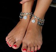 Women's Anklet/Bracelet Alloy Unique Design Fashion Bohemia Jewelry Silver Women's Jewelry Daily Casual 1pc