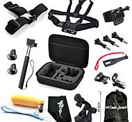 Accessori GoProMontaggio / custodia protettiva / Con bretelle / Sacchetti / Vite / Reinigungs-Tools / Boje / Sog / Accessori Kit /