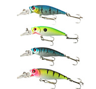 Anmuka Minnow Crank 5g 6.5cm 4pcs  Sea Fishing / Boat Fishing / General Fishing