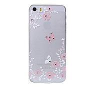 Latest Butterflies Pattern Swarovski Diamond High Quality Laser Relief Touch Phone Case for iPhone 5 / 5S