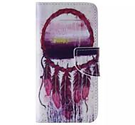 Kreisfeder-Muster Handy Leder für iphone 6 / 6S