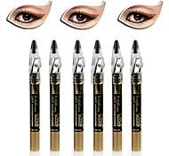 6PCS Dazzling Shimmer Eye Shadow Pen & Eyeliner Set
