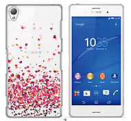 MAYCARI®Loving so Much Soft Transparent TPU Back Case for Sony Xperia Z3 (Assorted Colors)