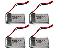 Model 1100 Mah 1 s 20 c 3.7 V Lithium Battery Protection Board rc Toy Plane JST   4 Pieces