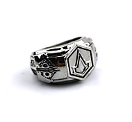 Jewelry Inspired by Assassin's Creed Connor Anime/ Video Games Cosplay Accessories Ring Silver Alloy Male
