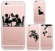 MAYCARI®Childhood Memory Soft Transparent TPU Back Case for iPhone5/iPhone5s(Assorted Colors)