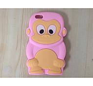 милый мультфильм оболочка силиконовое устанавливает мобильный телефон защиты оболочки для iPhone 5с (ассорти цветов)