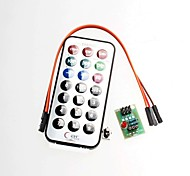 3 Sets, SCM Infrared Remote Control Module + Receiver HX1838 + NEC Infrared Remote Control Encoder