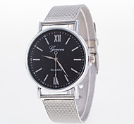 Men's Fashion Alloy Steel With Analog Display Quartz Watch Cool Watch Unique Watch