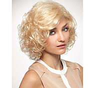 Ladys' Blonde  Short Synthetic Hair Wave Wigs Enough Inventory Extensions