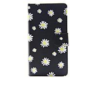Для яблока iphone 7 7 плюс iphone 6s 6 плюс iphone se 5s 5c 5 чехол для корпуса маленькие белые цветочные модели pu кожаные чехлы