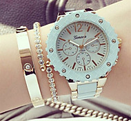 Unisex Charm Watch Alloy  Analog Quartz Wrist Watch (Assorted Colors) Cool Watches Unique Watches