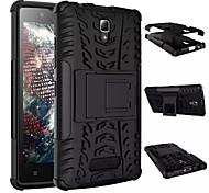 2015 venda quente dupla pesada armadura à prova de choque dever escudo caso robusto para Lenovo híbrido A2010 caso estande