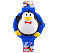 Skmei®Children Fashion Penguin Shape LED Wrist Watch PU Strap Assorted Colors Cool Watches Unique Watches