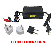12V Motorcycle Car Battery Charger Maintainer Smart Automatic Power Supply Adaptor US/EU Plug
