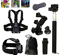 Professional Sports Accessories Kit Set Outdoor for Gopro 4 for Gopro 2/3/3+SJCAM SJ4000 Sports