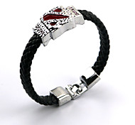 Jewelry Inspired by Cosplay Cosplay Anime/ Video Games Cosplay Accessories Bracelet Silver Alloy Male