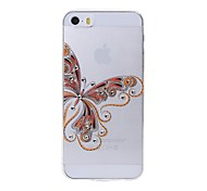 Latest  Butterfly Pattern Diamond High Quality Laser Relief Touch Phone Case for iPhone 6/ 6S