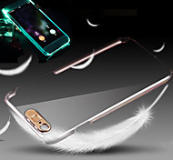 Lightning Flash Crystal Shell Mobile Phone Shell Transparent Protective Cover Case for iPhone 6 4.7/6S