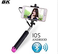 Extendable Handheld Wired Selfie Stick Monopod With Selfie Remote + Mount Holder For Samsung iPhone Camera Smartphone