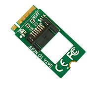 m.2 maiwo (ngff) a la tarjeta sata tarjeta de convertidor KT012