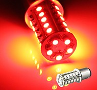 2* Car 1157 Turn Signal Parking Tail Bulb Lamp 3528SMD Red 30 LED Light 12V