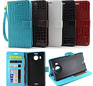 Flip Leather Magnetic Protective Case For Nokia Lumia 950XL(Assorted Colors)