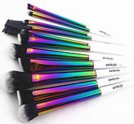11pcs Rainbow Color Brush Set