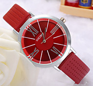 Ladies Watch The Latest Korean Fashion Beautiful Simple Rome High-Grade Porous Leather Watch