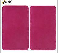 5.5inch Universal Use Leather Pouch Case Wallet Pull Tab Cover for Samsung Galaxy S6 Edge/S6/S5 (Assorted Color)